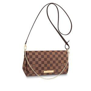 Authentic NEW Louis Vuitton favorite MM damier